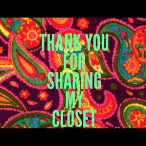 Thank you for sharing my closet 😊😁🙂☺️